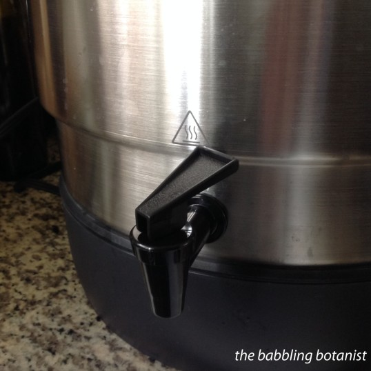 ball canner spout